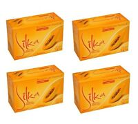 4 Pack Silka Papaya Whitening Herbal Soap W/ Vitamin E 4x135g (genuine/original)