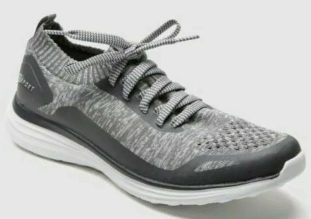 NEW S Sport by Skechers Men's Chad Knit Athletic Grey Light Tennis shoes Sz 9.5