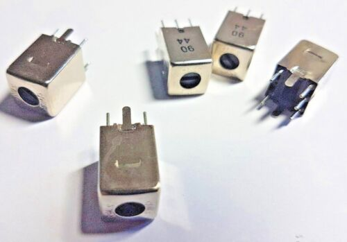 VARIABLE INDUCTOR COILS x 5pcs   2.5mH //-6/%Min