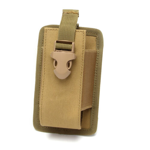 Outdoor Sports Military Molle Radio Walkie Talkie Pouch Radio Phone Bag