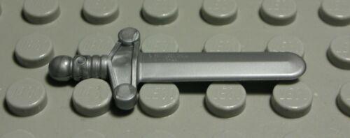 Lego Figur Zubehör Schwert Dunkelsilber   1598 #