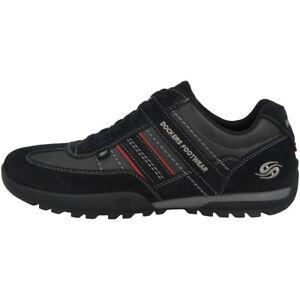 36ht001 36ht001 Schuhe Dockers By Sneaker Schnürschuhe Black 204100 Herren Gerli 8xPTSU