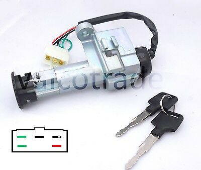 Ignition Switch SET FOR Peugeot SYM TWEET FIDDLE SYMPHONY SYM JET 4T