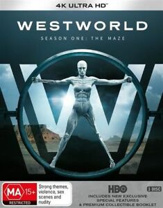 Westworld-Season-1-The-Maze-4K-UHD-Blu-ray-BLU-RAY-NEW