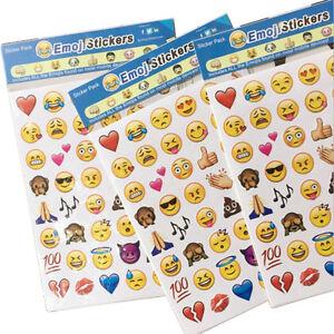 4 Pcs Schöne Emoji Lächeln Smiley Aufkleber Für Notebook Sticker Spielzeug DIY