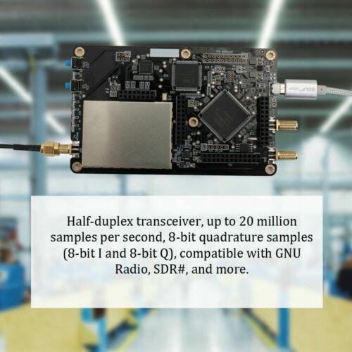 2020 Latest HackRF One 1 MHz to 6 GHz SDR Platform Software Defined Radio Board