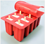 10-Cells-Frozen-Ice-Cream-Pop-Mold-Popsicle-Maker-Lolly-Mould-Ice-Tray-12-Sticks thumbnail 6