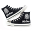 New Harry Potter Canvas Shoes High Top Flat Unisex Lovers Causal Shoes