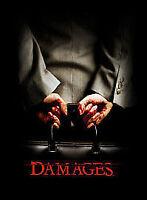DAMAGES COMPLETE SERIES 4 DVD Season Box Set + BONUS FEATURES New UK 4th Fourth