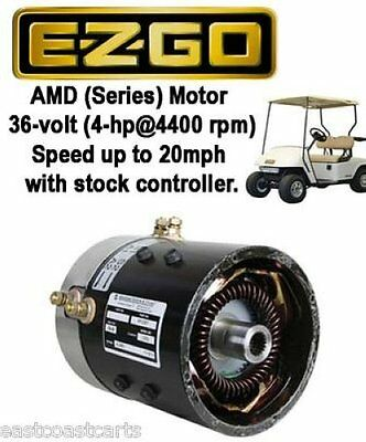 EZGO 36 volt SERIES Golf Cart High Speed Motor (20mph with ...
