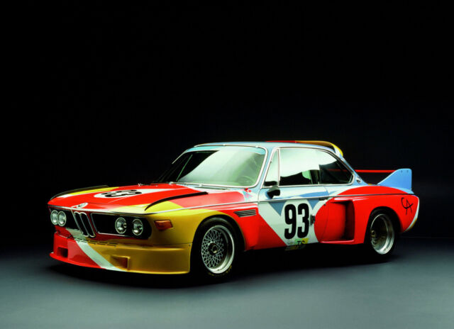 BMW ALEXANDER CALDER 3.0CSL ART CAR POSTER PICTURE PRINT