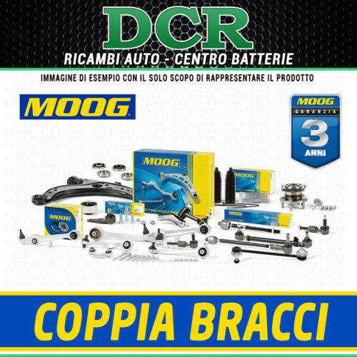 Coppia Bracci ruota anteriore Sx Dx MOOG VO-WP-5008 VO-WP-5009 AUDI SEAT VW
