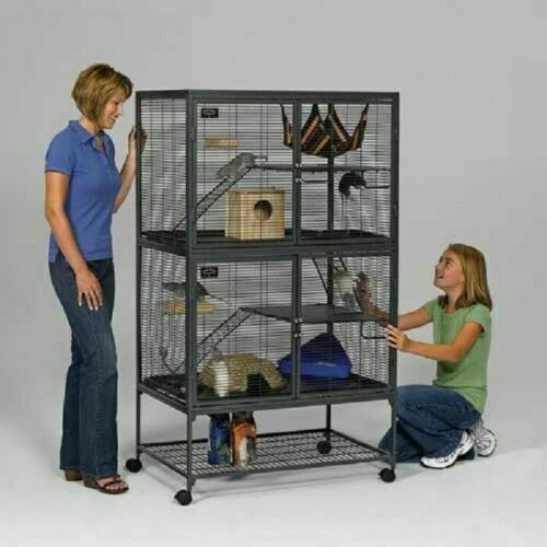 Rabbit Hutch Guinea Pig Chicken Ferret Cage Triangle For Sale Online Ebay