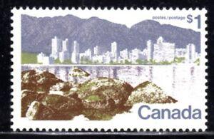 1972-77 Canada SC# 599 - Landscape Definitive - Vancouver - Lot# 712a - M-NH