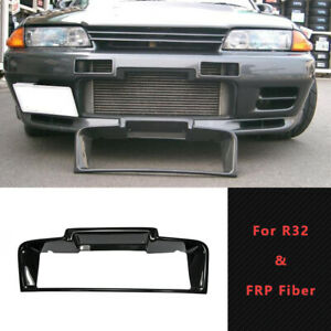 For Nissan R32 GTR FRP Unpainted Front Bumper Intercooler