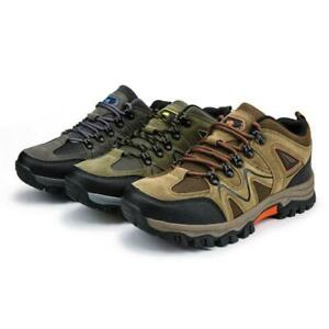 Men/'s Hiking Shoes Outdoor Sport Sneakers Breathable Climbing Lace Up Casual SZ