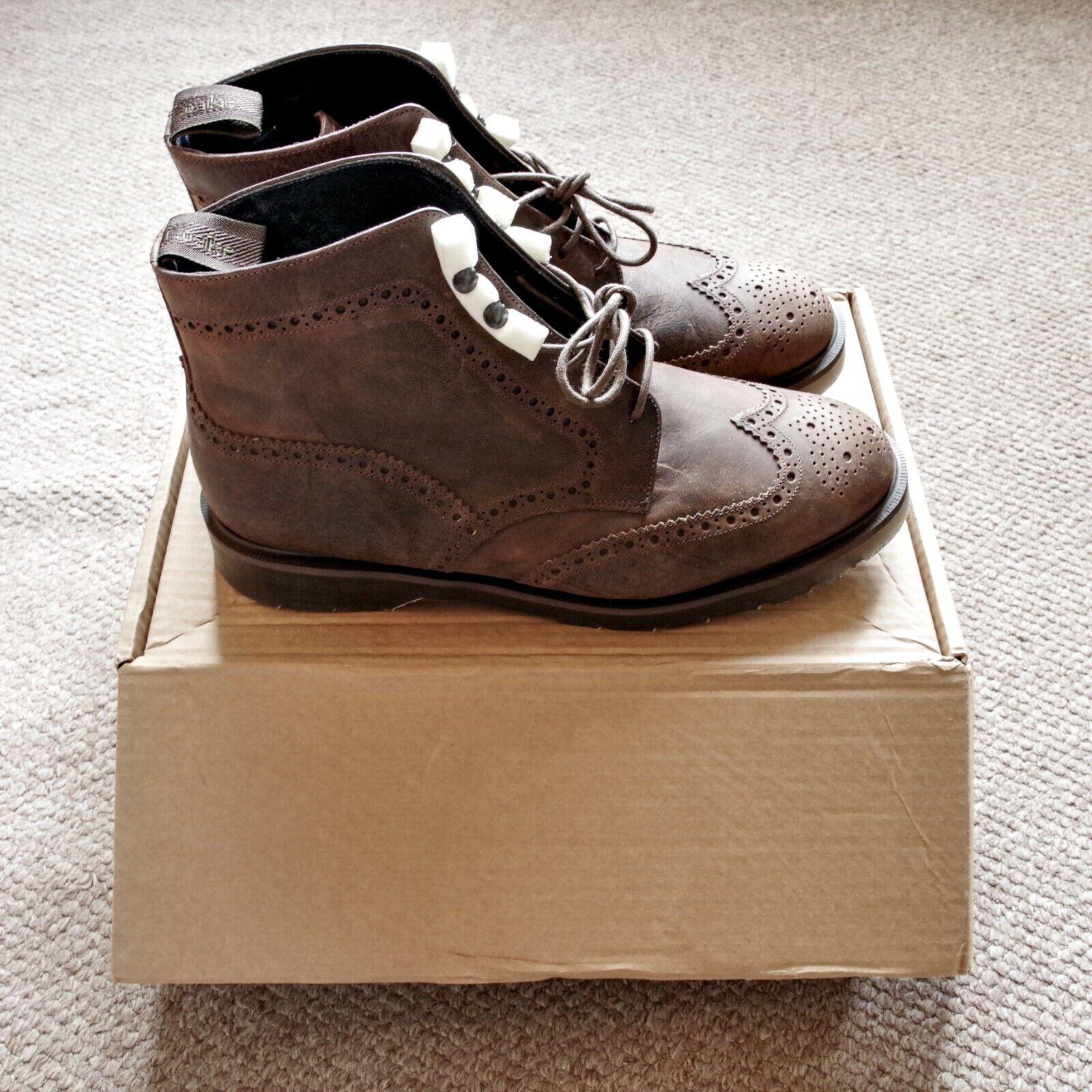 Loake NPS Solovair Rimmer Brogue Boots 10