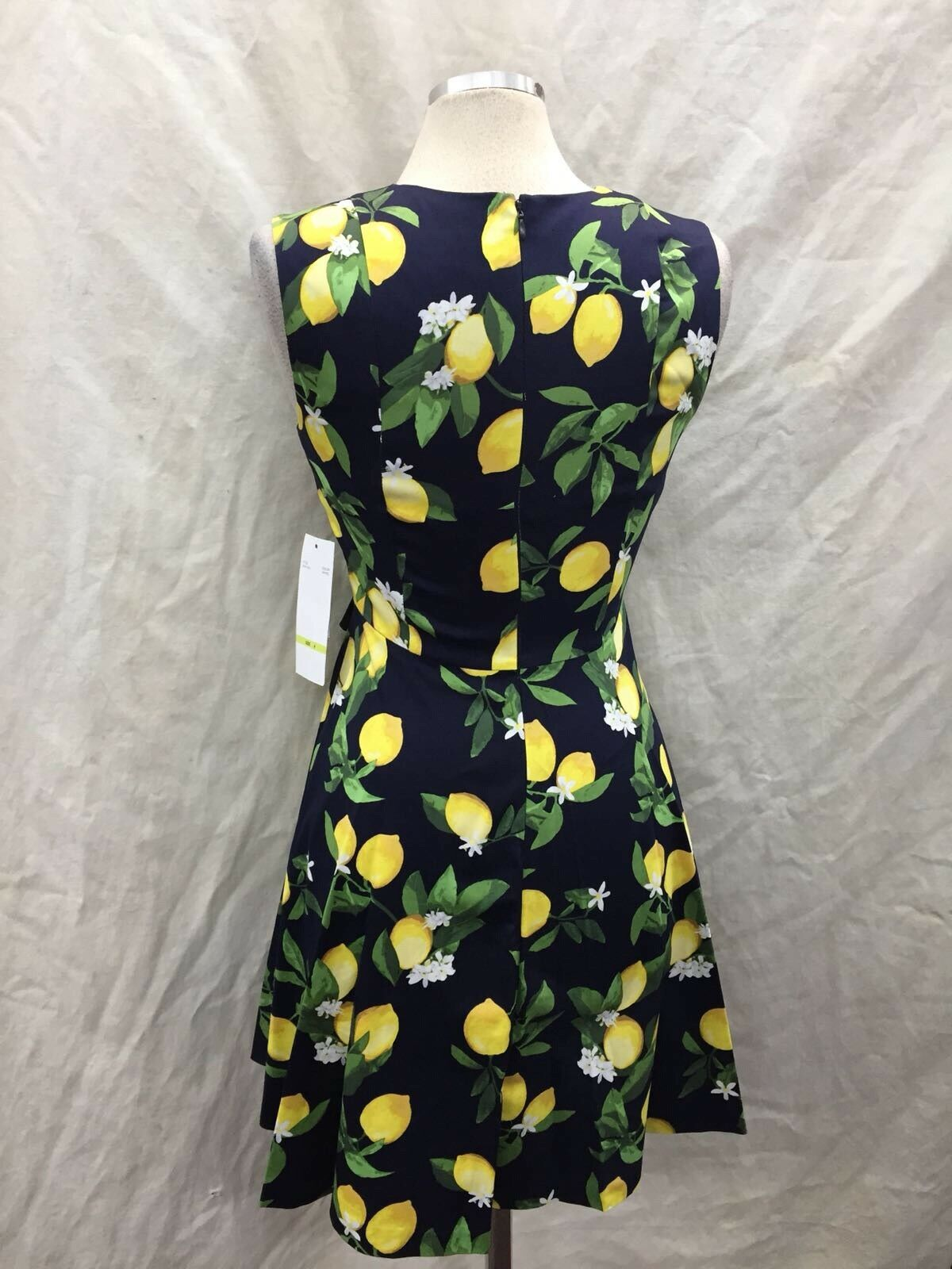 CHETTA B DRESS SIZE 16 NEW NEW NEW WITH TAG COTTON DRESS LINED LENGTH 39  7a9432