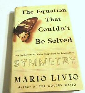 The Equation That Couldn't Be Solved: How Mathematical Genius-LAMGUAGE  SYMMETRY