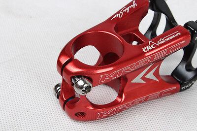 Aluminum Road Mountain MTB Bike stem 50mm*31.8mm Handlebar Stems red/black