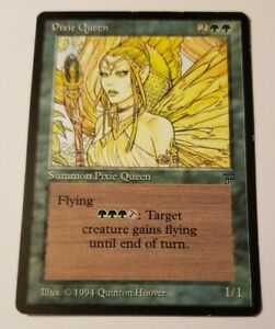 MTG Pixie Queen Legends Lp/NM Magic the Gathering Reserve List