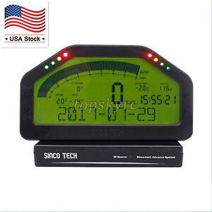SINCOTECH-DO904-Car-Race-Dash-Bluetooth-Full-Sensor-Dashboard-LCD-Rally-Gauge-US
