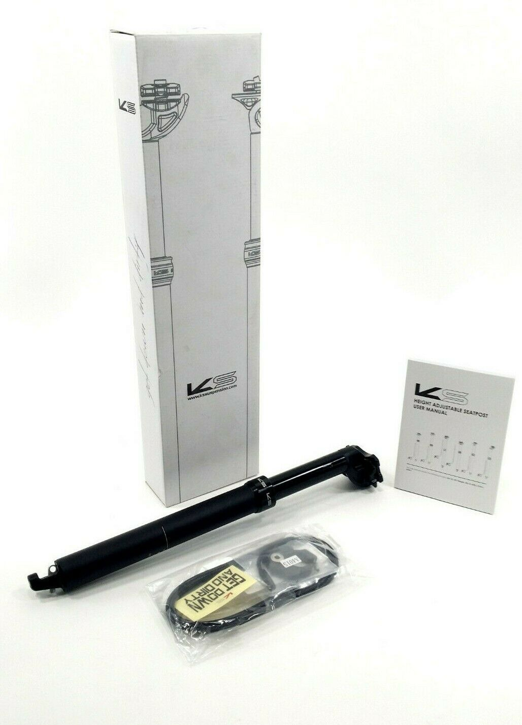 KindShock-Ten Integra Dropper tija de sillín E 20mm Offset 31.6mm 420 100mm de viaje