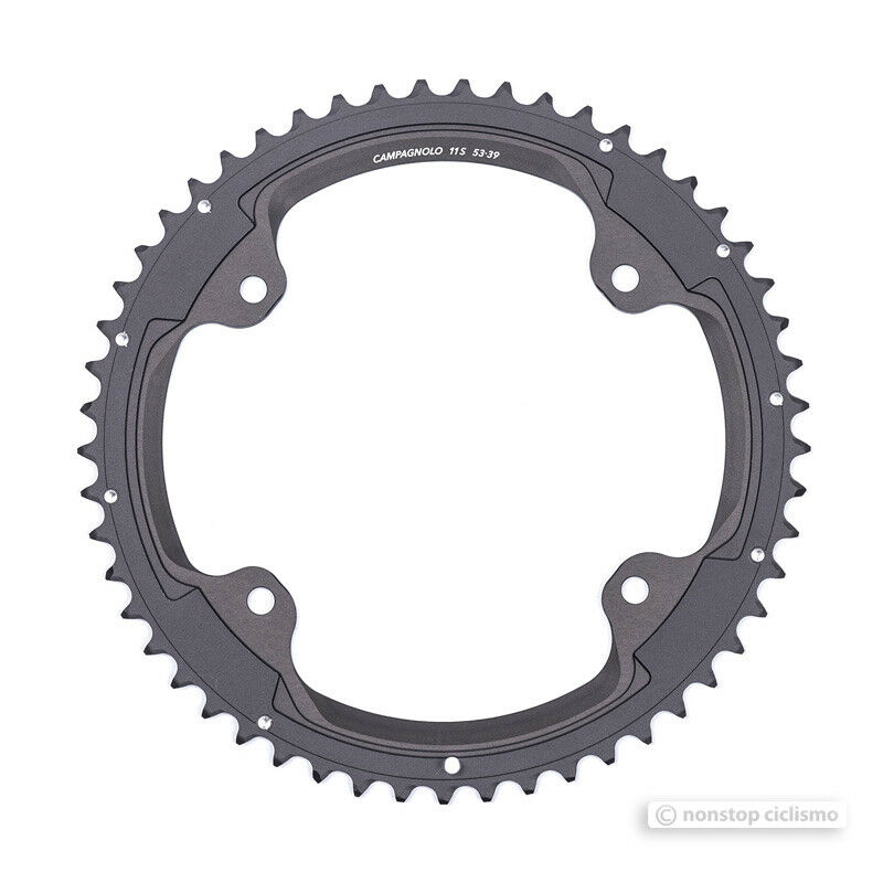 Campagnolo SUPER RECORD 4-Arm 11 Speed Outer Chainring   53T FC-SR353