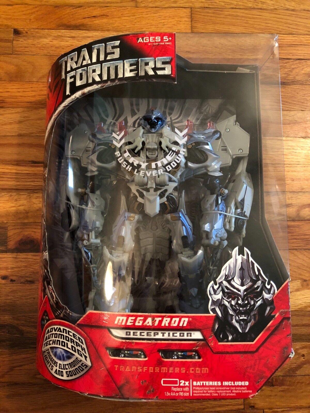 Hasbro Transformers Animated - Leader Class  Megatron Action Figure