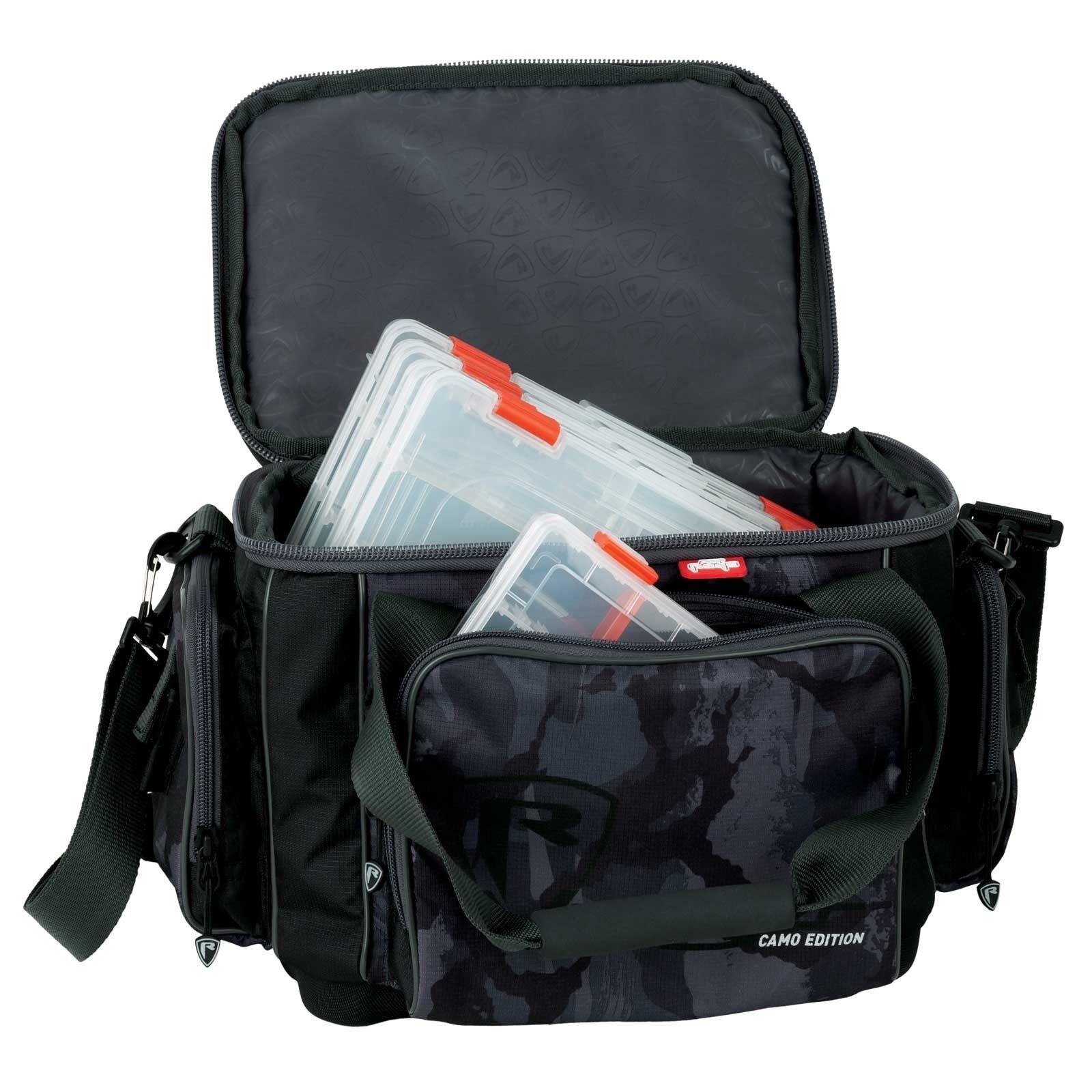 Fox Rage Angeln Angeltasche - Voyager Carrybag Camo Medium Carrybag Voyager Ripstop cf3e49