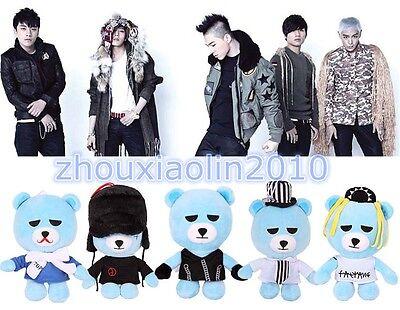 KPOP Bigbang Bear Doll YG Eshop G-Dragon T.O.P Taeyang Daesung Seungri 24CM Toy