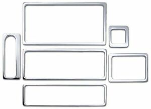 Chrome Billet Aluminium Air Bag Switch Dash Trim Bezel for HUMMER H2 SUV /& SUT