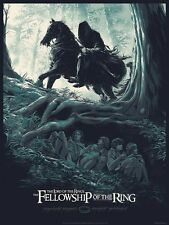 Lord of the Rings Poster - Juan Esteban Rodriguez - Limited Edition of 300
