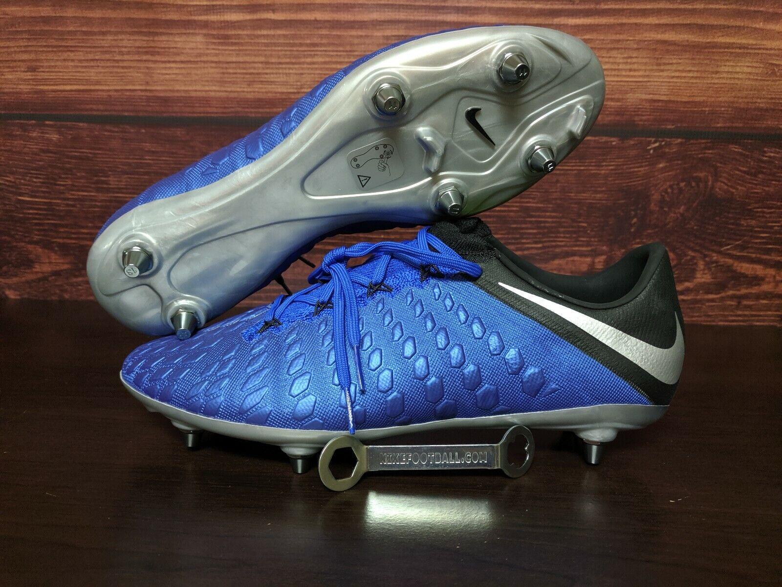 Nike Hypervenom Fantasma 3 Elite tacos SG Pro Hombre 10 AJ6708-401 hecho en Bosnia
