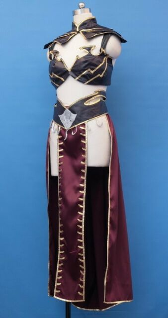 Warhammer online Dark Elf Sorceress Cosplay Custom Made