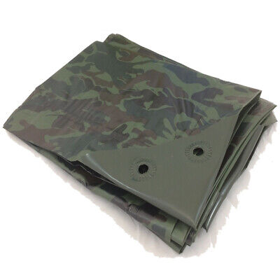 1.8m x 2.4m Pink Camouflage XT Tarpaulin Heavy Duty Ground Sheet Tough