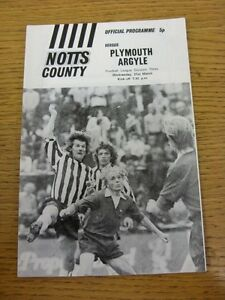 21031973 Notts County v Plymouth Argyle  Item In Good Condition - <span itemprop='availableAtOrFrom'>Birmingham, United Kingdom</span> - Returns accepted within 30 days after the item is delivered, if goods not as described. Buyer assumes responibilty for return proof of postage and costs. Most purchases from business s - <span itemprop='availableAtOrFrom'>Birmingham, United Kingdom</span>