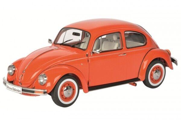 Schuco VW Käfer 1600i Última Edición snap orange 1 18 limitiert 1 1000