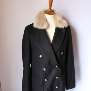 TopShop Faux Fur Coat NWT Sz: 4