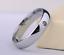 Anello-Fede-Fedina-Uomo-Donna-Solitario-Fidanzamento-Nuziale-Acciaio-Incisione miniatura 4