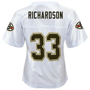 official photos a95d3 a8d4b Details about Trent Richardson NFL Cleveland Browns Replica White Jersey  Girls Youth XS-XL