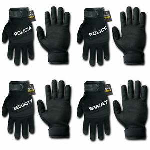 RapDom-Gloves-Digital-Leather-Police-Policia-Security-SWAT-Driving-Tactical