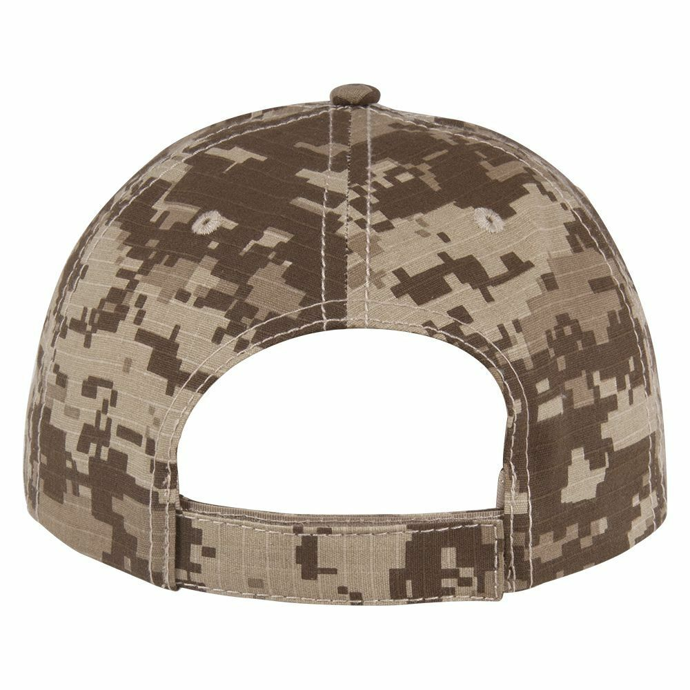 Digital Rip Camouflage Ripstop Rip Digital Resistent Structured Cotton Cap - Free Shipping 9bd31c