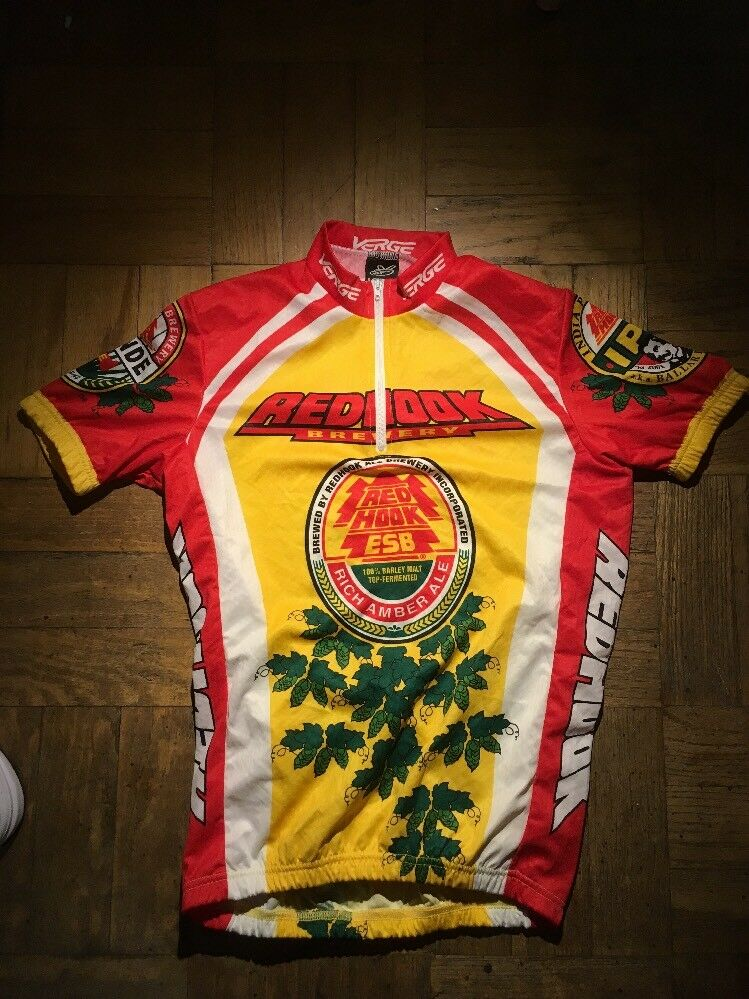 Verge rosso Hook Cycling Jersey Mens Medium