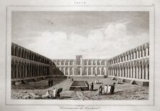PERSIEN KASCHAN IRAN KASCHAN KARAVANSEREI 1841 PERSE  PROVINZ ISFAHAN PERSIA