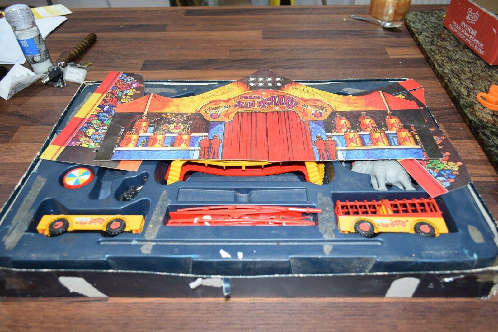 Corgi Toys Gift Set 48 Jean Richard Pinder part Circus Set in part Box