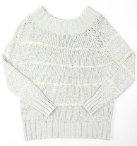 Billabong Womens Snuggle Down Sweater Athletic Grey L New