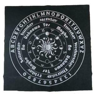 Tarot Tablecloth Divination Tarot Card Pad Pendulum New Altar Runes Cloth J0W0