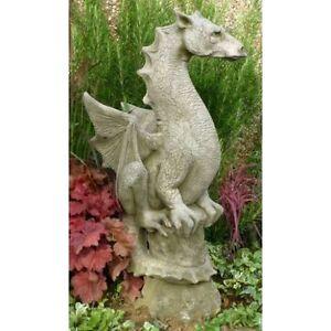 Image Is Loading Halvard Statue Stone Dragon Garden Dragon