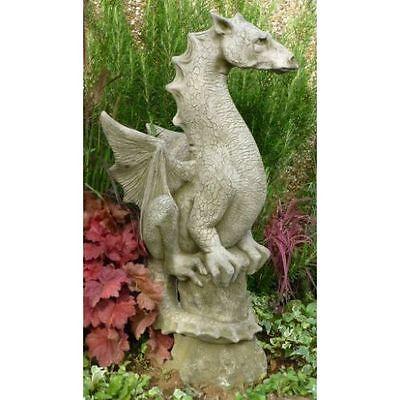 Halvard Statue Stone Dragon Garden